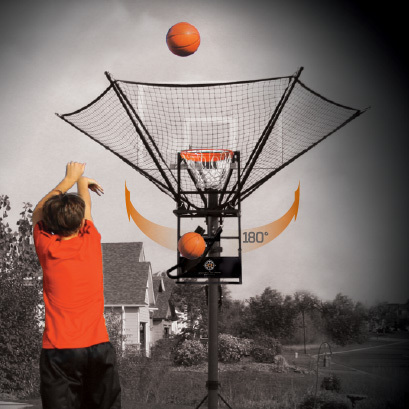 iC3 Shot Trainer Makes Practicing Basketball By Yourself Amazing