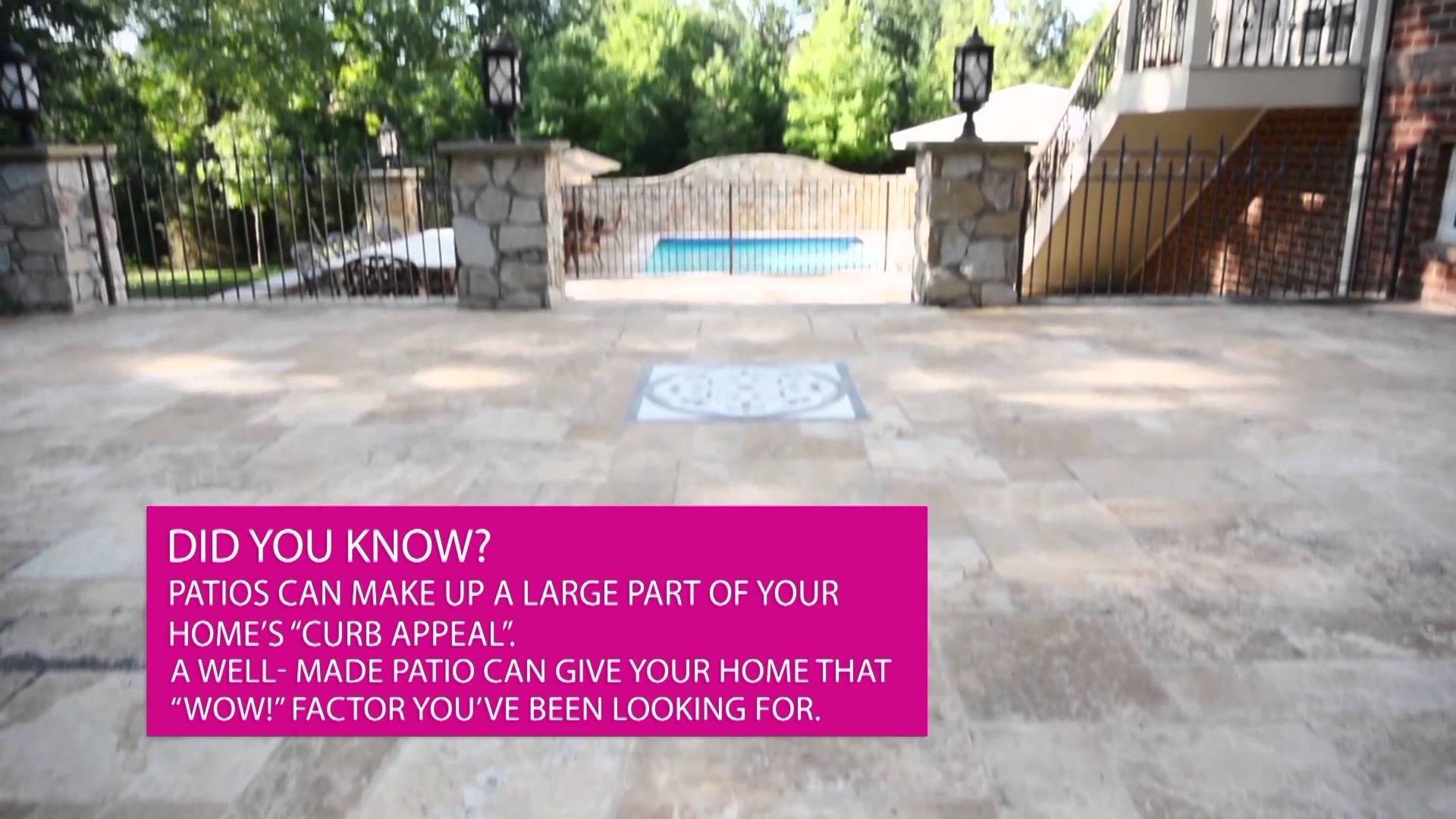 Luxury Mansion Walkthrough Stone Patios VA:: JOSH BOIS TV